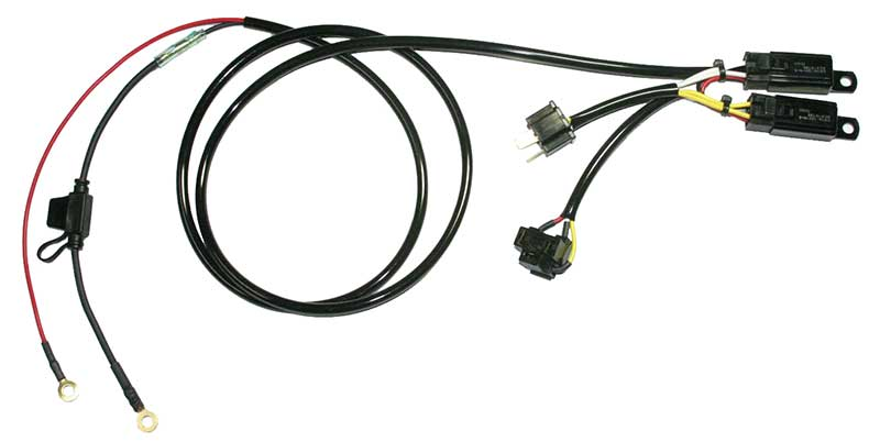 H4 Single Positive Ground Headlight Relay Kit