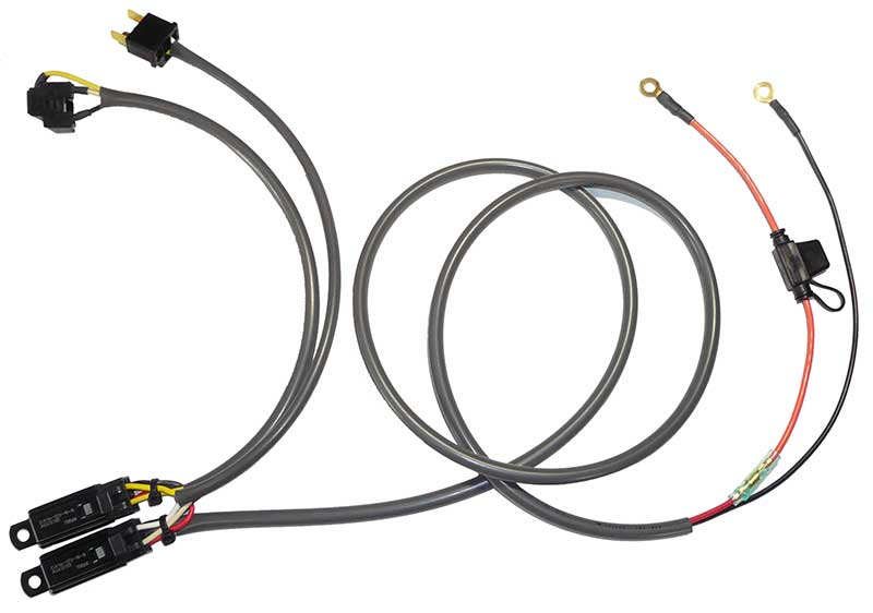 H4 Single Headlight Relay Kit