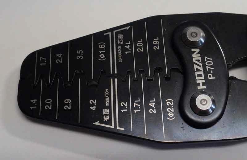 1PC NEW Original HOZAN P-707 crimping pliers #CZ 336